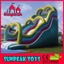 SL-219 Backyard Rental Inflatable Slip And Slide