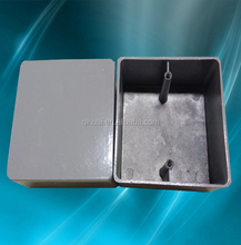 86 type aluminum alloy wall square box for electrical wiring