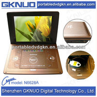 LCD screen mini portable dvd player with low price