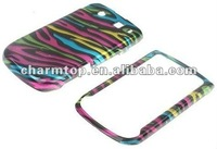 Colorful Zebra Pattern Case for Blackberry Torch 9800