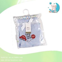 180gsm waffle 100*75cm embroidered baby blanket
