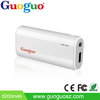 Guoguo promotion top sales LED light Backup Batteries Portable, 4400mAh power bank for iphone