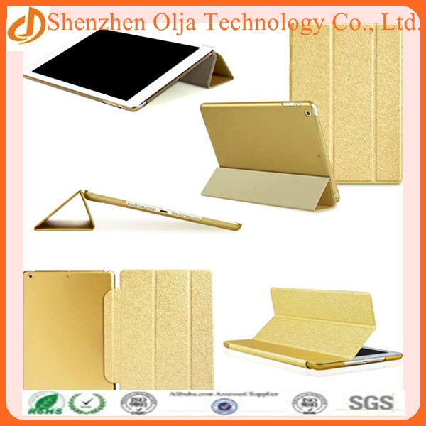 2014 hot selling cover case protective for ipad mini,silk printing book type leather case for ipad mini stand