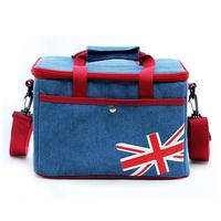 High quality customizable logo fabric cooler bag