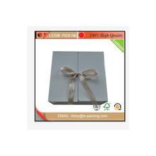 2015 fashion alibaba china customized folding jewelry box,new disign box gift, factory wholesale folding gift box with ribbon