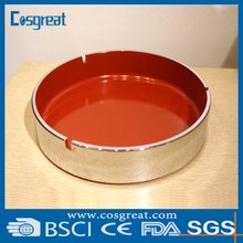 hot selling melamine heat resistant rotary standing ashtray outdoor ashtray similar as porcelain ashtray