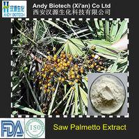 Total Fatty acids 45% High Quality Saw Palmetto Extract Powder