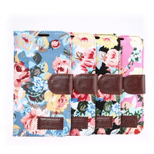 For samsung galaxy S6 leather flip cell phone case