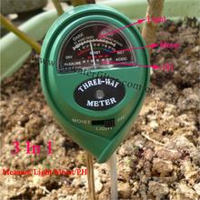3 em 1 venda quente de alta qualidade preço Ph do solo medidor de umidade
