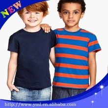 7-10 years old body fit boy kids striped t-shirts
