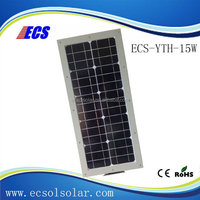 Chinese producer 15w solar led garden light street light price with ce