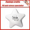 Novelty advertising gift polyurethane star stress ball