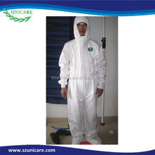 Surgical sterilization Spraying composite non-woven fabric protective clothing, with hood and boots