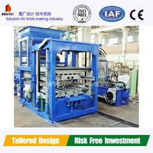 Fully Automatic clay brick Making Machine QFT12-15 for making hollow blocks in Alibaba express