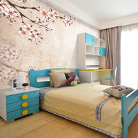 3D decorative cork natural wallpaper