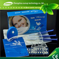 Private lable Remove discolored stains from teeth peroxide gel kit