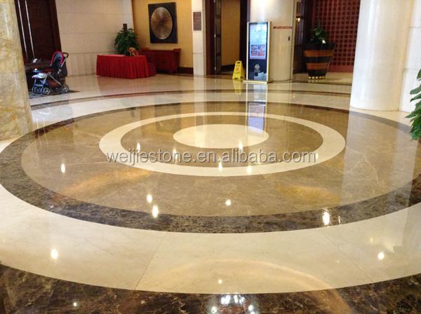 Stone Turning Marble Floor Lobby : Simple marble lobby flooring design hotels waterjet