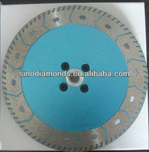 double sides diamond turbo segment saw blade for granite marble masonry