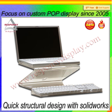 table top adjustable computer keyboards stand ergonomic laptop display stand