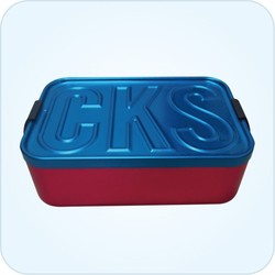 Size:172x117x60mm aluminum medical box/medical tool box/food lunch box
