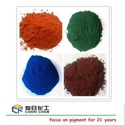 Best price 95% iron oxide hydroxide black pigment and yellow ceramic powder for paint/pavers/rubber concrete stamps coloring