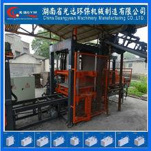 bloqueo automático de concreto que hace la máquina de GYM-QT4-13
