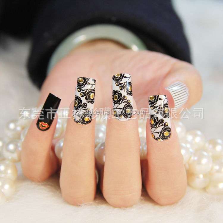2015 Newest Designs Korean Style Metal Stamping Nail Art - Buy Metal ...