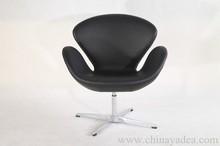 Modern Furniture design Premium leather Iconic Swan chair