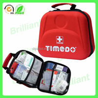 red nurse first aid kit care eva case bag with handle