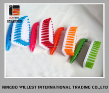 Colourful durable scrub brush for cloth washing