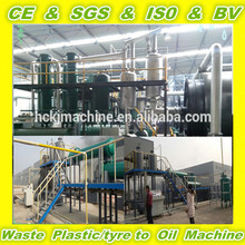 waste tire recycling machine with 2 year warranty time