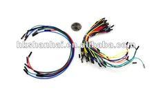 Jumper solderless breadboard Jumper fio de cabo de telecomunicações qty 350