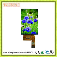 "TS8140A 3.97"" lcd panel 480 x 800 pixels MIPI-2 Lanes interface OTM8018B 16.7M colors"