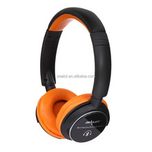 Fashion China Supplier Bluetooth Headphone with Leather headband With 3.5mm Stereo Jack For Computer