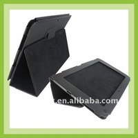 Stand leather case for Asus transformer TF101, for Asus transformer TF101 case