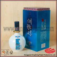 Alibaba wholesale popular glossy box packing for liquor