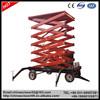 Electric hydraulic ladder/used man lift
