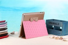 Flip Leather Case For new ipad 3,smart case for ipad 2 3 4 new design