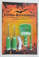 HOT SELLING 5pcs Halloween pumpkin carving tool kit