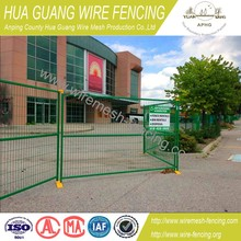 Powder coating temporary fence panels hot sale , Temporary fence panel , Temporary construction fence
