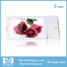 1G RAM tablet pc 2G phone function mtk 8312 dual core tablet 9 inch android tablet pc