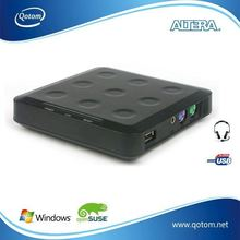 QOTOM-N20 Mini workstation& Thin client with one USB port,