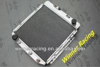 "Hi-perf.21.5"" high aluminum alloy radiator for Ford Mustang/Falcon/Ranchero/Mercury Comet V8 conversion A/T"