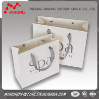 2015 Factory customized paper printing musical paper bags
