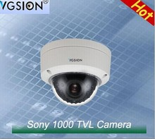 3.6 mm lens Pal/NTSC Analog Metal camera SONY 1000 TVL Waterproof IR Camera with ICR specially for places of security