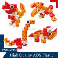 smart toy block - plastic connecting brick toy