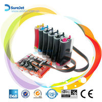 Bulk ink system for Canon pixma MP980 Mp990 printer reset chip ciss