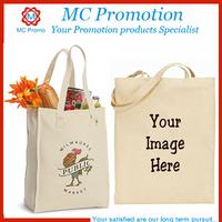 Hotsale printed fashion tote cotton bag
