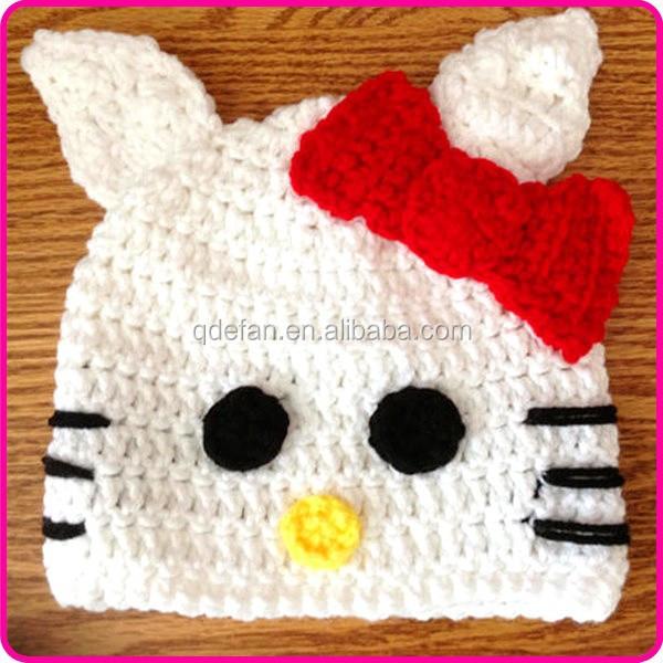 Hello Kitty Baby Hat Knitting Pattern : Wholesale Crochet Knit Hello Kitty Hat - Buy Hello Kitty Hat,Crochet Hello Ki...