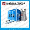 LY-8100 Longxiang hot sale economic spray booth with carbon filter